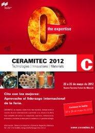 Congresos y Exposiciones - ceramica y cristal