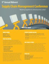 register today! - Broad College of Business - Michigan State University