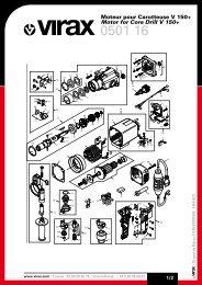 050116_a moteur carotteuse V150+ / Motor For Core Drill V150+