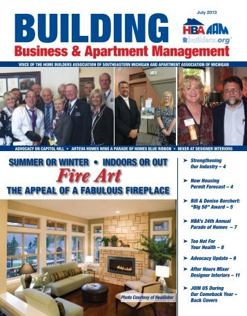 July 2013 BBAM Magazine - HBA of Southeastern Michigan