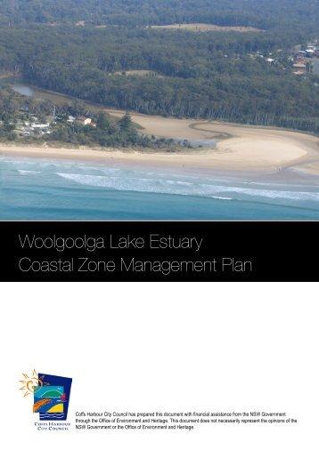Woolgoolga Lake Estuary Coastal Zone Management Plan (7.9MB)