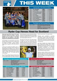 Ryder Cup Heroes Head for Scotland - European Tour