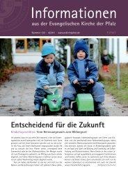 Informationen Nr. 130 - 4/2011 (PDF, 4.72 MB - Evangelische Kirche ...