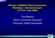 Semiochemicals - REBECA