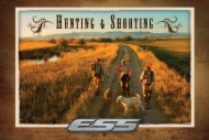 ESS Hunting and Shooting Catalog
