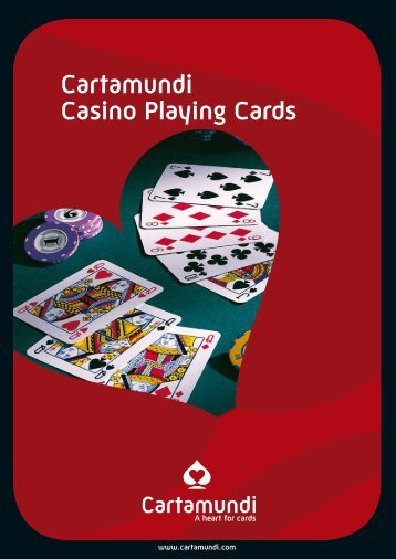 Cartamundi Casino Playing Cards