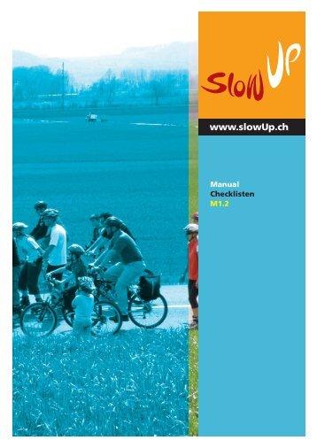 Checklisten slowUp 2011