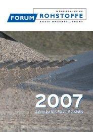 2007 - Forum Rohstoffe