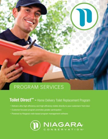 Home Delivery Toilet Replacement Program - Niagara Conservation