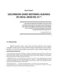 Gelombang Baru Reforma Agraria oleh Noer Fauzi - Elsam
