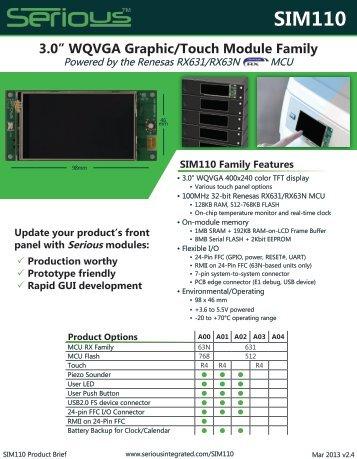 SIM110 - Arrow Electronics