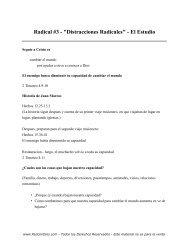 Radical - el Libro - 3 - Estudio - PazConDios