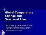 Sea-Level Rise - MESL - Georgia Institute of Technology