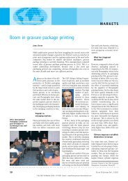 Boom in gravure package printing - European Rotogravure ...