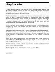 Pagina één - WZC Ons Zomerheem