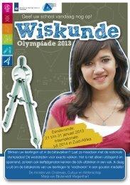 brochure - Nederlandse Wiskunde Olympiade