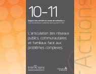 Rapport des activités du centre de recherche 2010-2011 - CSSS de ...