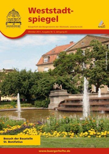 Weststadt- spiegel - KA-News