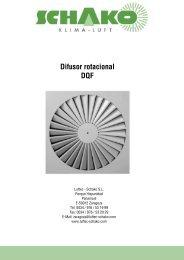 DQF Difusor rotacional - Schako