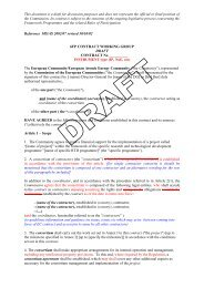 This document is a draft for discussion purposes and does not ...