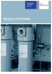 Katalog für Drucklufttechnik - Agre