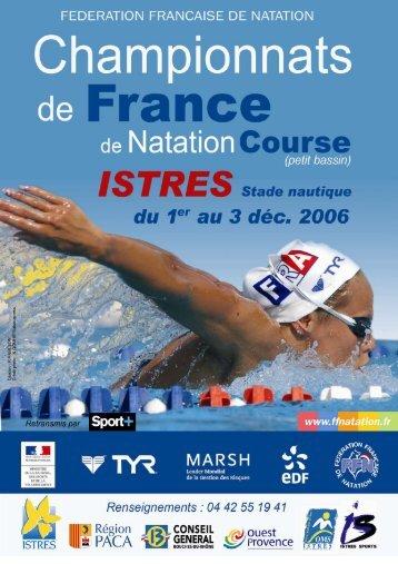 Podiums chpts de France - Istres