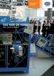 DAS WAR DIE HANNOVER MESSE 2005