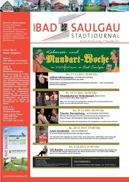 Kulturelles - Stadt Bad Saulgau