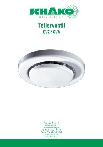 Tellerventil - Schako