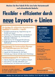Flexibler + effizienter durch - Dr. Wüpping Consulting GmbH