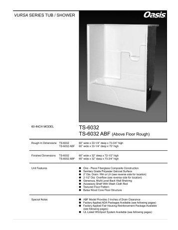 TS-6032 - Oasis Bath
