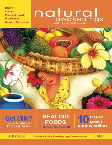 Got Milk? - Columbia Natural Awakenings–Home