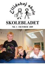 skoleblad oktober 2009 - Ellidshøj Skole - SkoleIntra