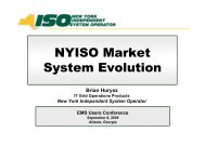 03 NYISO Market System.pdf - EMS Users Conference