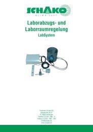 Laborabzugs- und Laborraumregelung - Schako