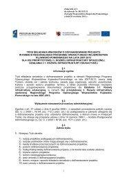 Tryb składania wniosków o dofinansowanie projektu ... - mojregion.eu