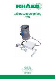 Laborabzugsregelung - Schako