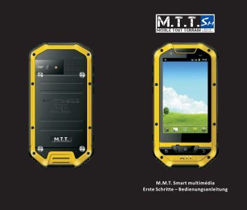 M.M.T. Smart multimédia Erste Schritte – Bedienungsanleitung