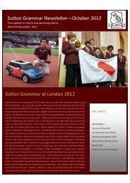Newsletter October 2012r.pub (Read-Only) - Sutton Grammar School