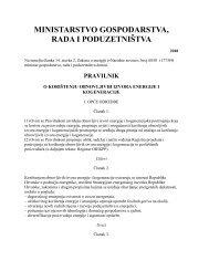 Pravilnik o korištenju obnovljivih izvora energije i ... - MojaEnergija
