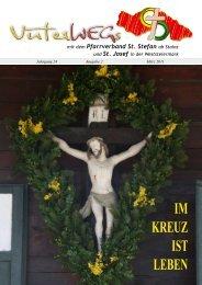 IM KREUZ IST LEBEN - Pfarre St. Stefan ob Stainz