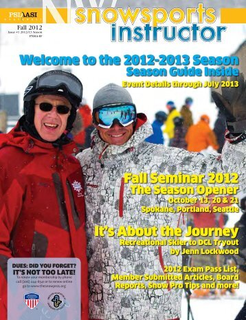 Psia-Nw snowsports instructor fall 2012 web