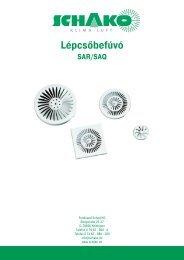műszaki dokumentáció - Schako