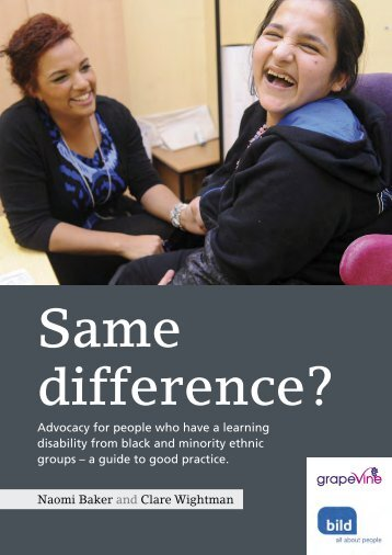 Same Difference - British Institute of Learning Disabilities