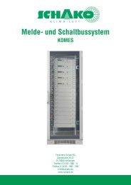 Melde- und Schaltbussystem - Schako