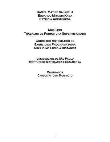 monografia Patricia - Rede Linux IME-USP