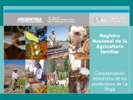 Comercialización de producción agroindustrial - renaf