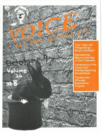 VOL. - Voice For The Defense Online