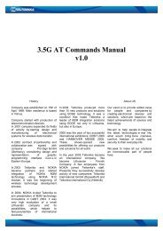 3.5G Modem AT commands Manual.pdf - Teltonika