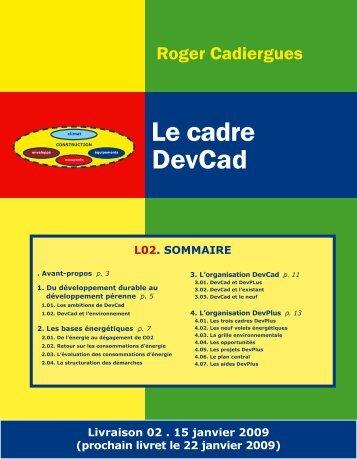Le cadre DevCad - Xpair
